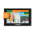"Garmin Drive 40LM navigator 10.9 cm (4.3"") Touchscreen TFT Handheld/Fixed Black 144.6 g"