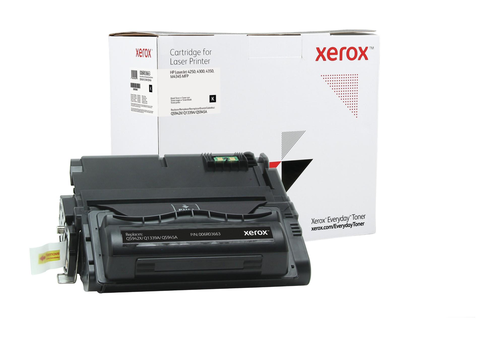 Xerox Tóner de Alto rendimiento Mono Everyday, HP Q5942X/ Q1339A/ Q5945A equivalente de , 20000 páginas