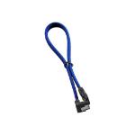 Cablemod CM-CAB-RSAT-N30KB-R SATA cable 0.3 m Blue