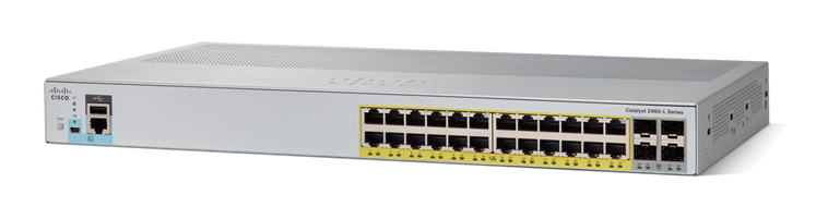 Cisco Catalyst 2960-L Gestionado L2 Gigabit Ethernet (10/100/1000) Gris 1U Energía sobre Ethernet (PoE)
