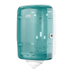 Tork 473167 paper towel dispenser Roll paper towel dispenser Turquoise, White