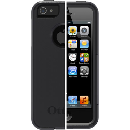iPhone 5/5s Commuter Case Black