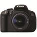 Canon EOS 700D 18MP CMOS 5184 x 3456pixels Black