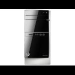 HP Pavilion 500-502nl 3.2GHz i5-4460 Micro Tower Black PC