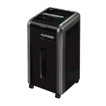 Fellowes C-225Ci Cross shredding Black,Silver Paper Shredder