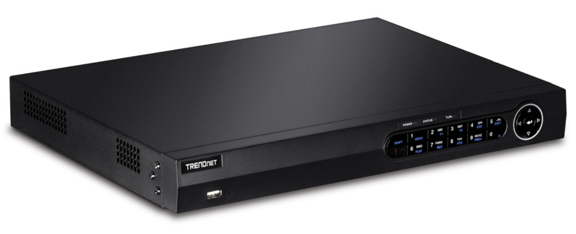Trendnet TV-NVR2216D4 network video recorder Black