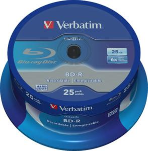 Verbatim 43837 25GB BD-R 25pc(s)