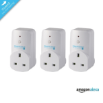 EnerGenie Mi|Home 3 Pack Smart Plugs