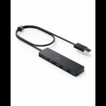 Anker A7516012 interface hub USB 3.2 Gen 1 (3.1 Gen 1) Type-A Black