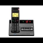 British Telecom Diverse 7150 Single DECT telephone Caller ID Black