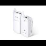 TP-LINK TL-WPA8630KIT 1200 Mbit/s Ethernet LAN Wi-Fi White 2 pc(s)