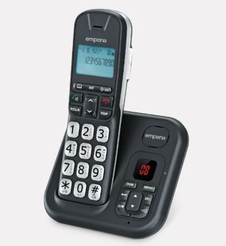 Emporia GD61AB telephone DECT telephone Black