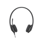 Logitech H340 Binaural Head-band Black headset
