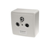 Maximum 1208 White outlet box