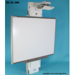 Ra technology RA-PL-WR Wall White project mount