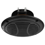 Monacor SPE-110P/SW loudspeaker 1-way 15 W Black Wired