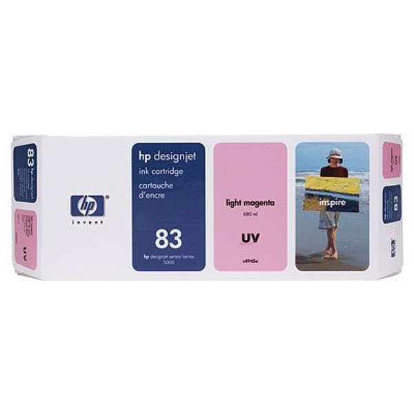 HP C4945A (83) Ink cartridge bright magenta, 680ml