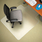 MARBIG CHAIRMAT ANTISTATIC LARGE WITH KEYHOLE 1140 X 1340MM