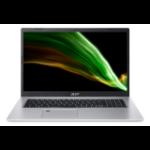"Acer Aspire 5 A517-52G-51H5 Notebook 43.9 cm (17.3"") 1920 x 1080 pixels 11th gen Intel® Core™ i5 16 GB DDR4-SDRAM 512 GB SSD NVIDIA GeForce MX450 Wi-Fi 6 (802.11ax) Windows 10 Home Silver"