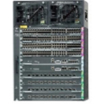 Cisco WS-C4510R+E 14U Black network equipment chassis