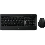 Logitech MX900 PERFORMANCE keyboard RF Wireless + Bluetooth QWERTY UK International Black