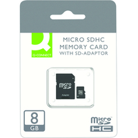 Q-CONNECT 8GB MICRO SDHC CARD CLASS10