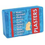 Wallace Fabric Plasters Assorted 3 Sizes Oblong Ref 1210024 [Pack 150]