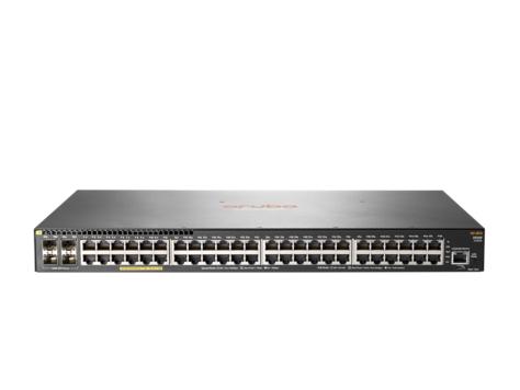Hewlett Packard Enterprise Aruba 2930F 48G PoE+ 4SFP Managed L3 Gigabit Ethernet (10/100/1000) Power over Ethernet (PoE) 1U Grey
