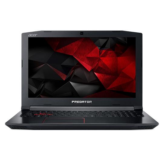 "Acer Predator PH317-51-73E7 2.8GHz i7-7700HQ 17.3"" 1920 x 1080pixels Black,Red Notebook"