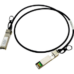 Hewlett Packard Enterprise X240 10G SFP+ 1.2m DAC 1.2m Black networking cable
