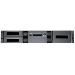 Hewlett Packard Enterprise StoreEver MSL2024 1 LTO-5 Ultrium 3000 SAS Library w/24 LTO-5 Media/TVlite 36000GB 2U tape auto loader/library