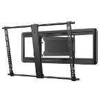 "Sanus Systems VLF613-B2 80"" Black flat panel wall mount"