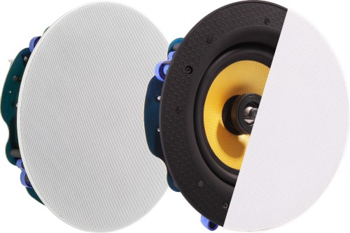 Vision CS-1900 loudspeaker 1-way 60 W Black,White,Yellow Wired