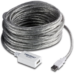 Trendnet TU2-EX12 USB A USB A Grey cable interface/gender adapter