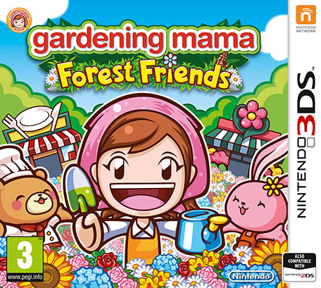 Nintendo Gardening Mama: Forest Friends, 3DS