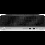 HP ProDesk 400 G6 8th gen Intel® Core™ i3 i3-8100 8 GB DDR4-SDRAM 256 GB SSD Black,Silver PC