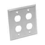 Tripp Lite N206-FP04-IND socket-outlet RJ-45 Silver