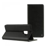 """Ksix B8615FU81 mobile phone case 15.2 cm (6"""") Folio Black"""