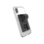 Speck GrabTab Neon Nights Mobile phone/Smartphone Black, White Passive holder