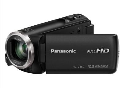 Panasonic HC-V180EC-K camcorder 2.51 MP MOS BSI Handheld camcorder Black Full HD