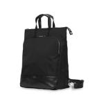 Knomo Harewood backpack Nylon Black/Silver