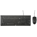 HP C2500 keyboard USB Black
