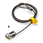 "Kensington ClickSafe Combination Laptop Lock for Wedge-Shaped Security Slot cable lock Black 70.9"" (1.8 m)"