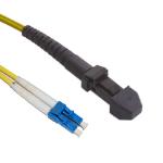 Videk OS1 LC - MTRJ fibre optic cable 3 m MT-RJ Yellow