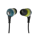 Monoprice 10153 headphones/headset In-ear Green