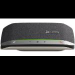 POLY 217038-01 altavoz Universal Negro, Plata Bluetooth