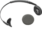 Plantronics Uniband Headband Monaural Wireless Black mobile headset