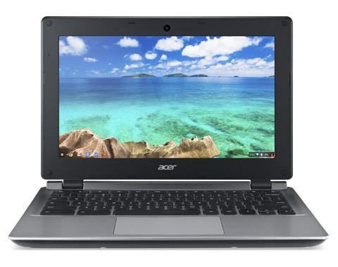 "Acer Chromebook 11 C730E 2.16GHz N2840 11.6"" 1366 x 768pixels Black,Grey"
