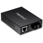 Trendnet TFC-GMSC network media converter 2000 Mbit/s 850 nm Black