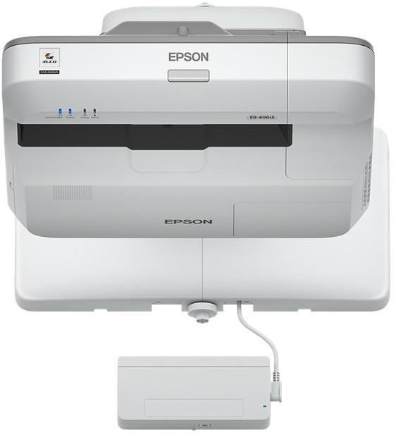 Epson EB-696Ui UST Interactive Projector & Wall Bracket Bundle